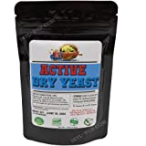 Active Dry Yeast 4 oz EXPIRES 06-2022 - FAST Shipping! Slim Resealable bag - Easily stores in your refrigerator or freezer fo