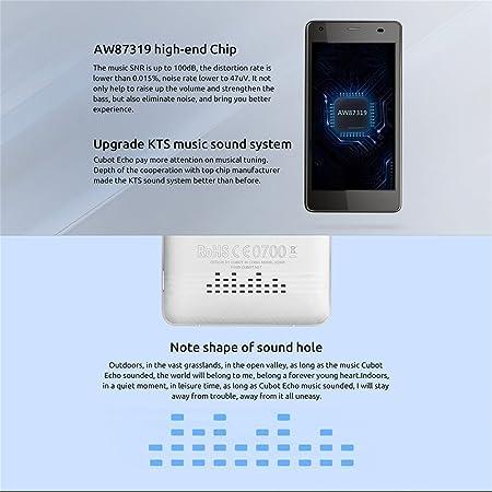 Cubot Echo 3 G Smartphone sin Contrato 5 pulgadas HD, Pantalla táctil Android 6.0, 2 GB RAM + 16GB ROM. Cámara de 13 MP cámara principal/5MP/frontal, batería de 3000 mAh, Dual SIM. Negro: Amazon.es: Electrónica