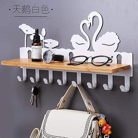 Joeesun Llave creativa para colgar en la pared perchero de ...