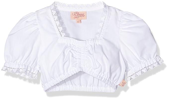 Pezzo Doro Designer, Blusa para Niñas, Blanco (White), 92 cm
