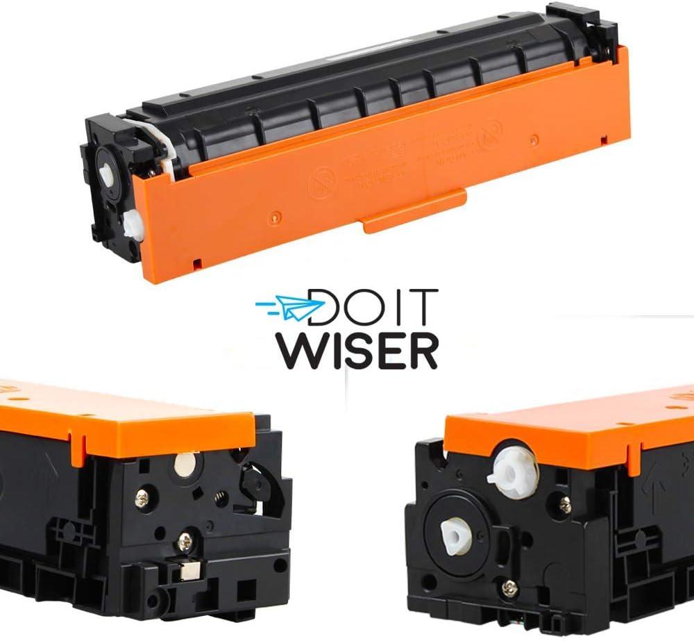 Pack de 4 Do it wiser 054H Cartuchos de T/óner Compatibles para Canon i-SENSYS MF640C MF641CW MF642CDW MF643CDW MF644CDW MF645CX LBP621CW LBP622CDW LBP623CDW