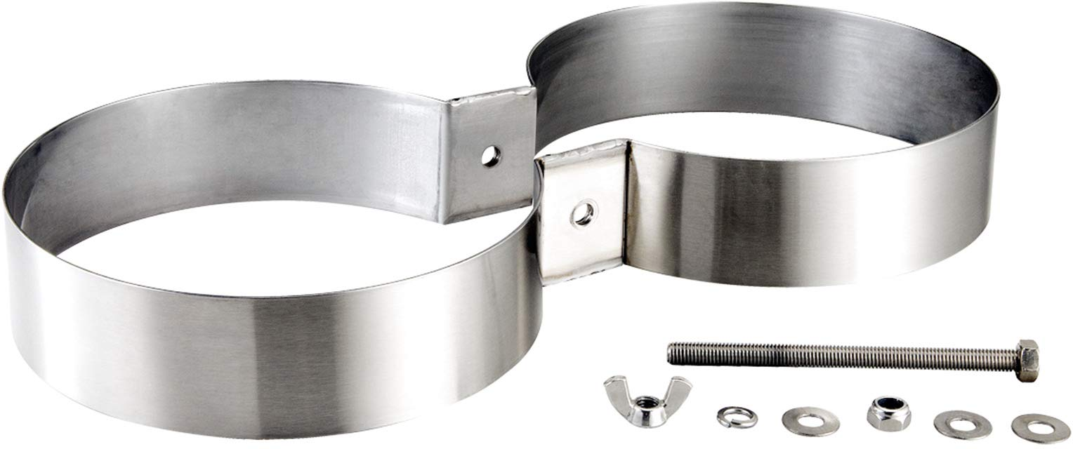 IST Dolphin Tech Stainless Steel Twin Tank Bands (7.25 in)