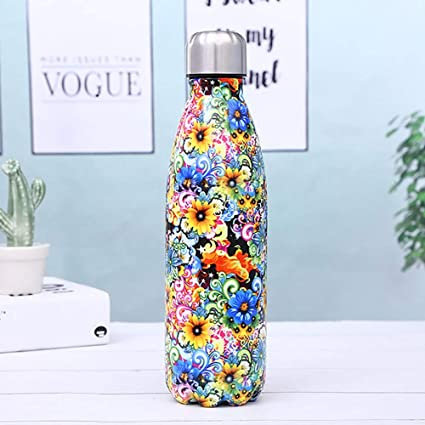 Chillies Bottiglia Dacqua Chilli Bottles Chillys 500ml Long Hot Gym Metal Drinks Bicicletta per Vacuum Steel Thermos Sport Waterbottle Flask Chilly ...