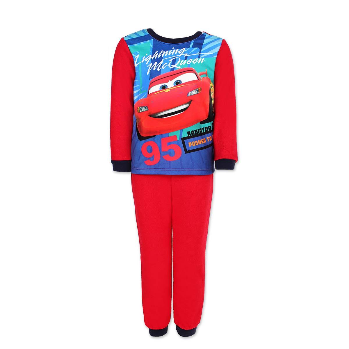 Cars - Flash Mc Queen - Conjunto de Pijama Polar Alto y bajo para ...