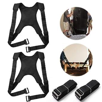 Moving Straps - Arnés para levantamiento de pesas para 2 personas ...