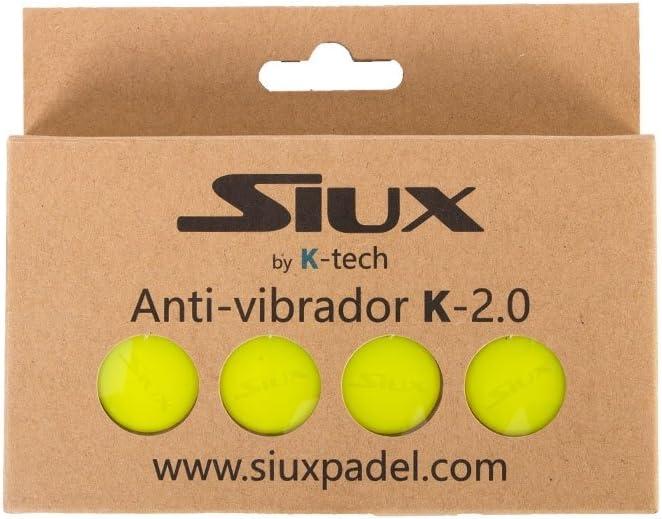 Siux ANTIVIBRADOR VIBRASTOP K-2.0 Amarillo: Amazon.es: Deportes y ...