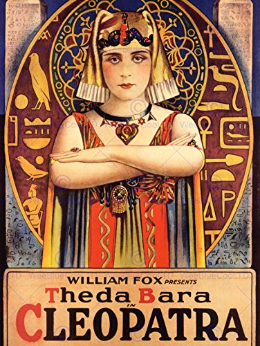 Cleopatra Movie Poster - FILM MOVIE THEDA BARA CLEOPATRA EGYPTIAN FOX 30X40 FINE ART PRINT POSTER BB7900