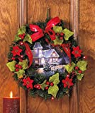 Lighted Scenic Wreath