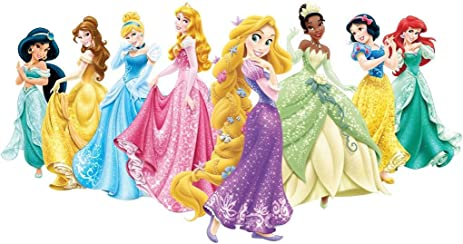 Disney Princesses Decal Removable Wall STICKER Decor Art Rapunzel Ariel Belle C786 Large