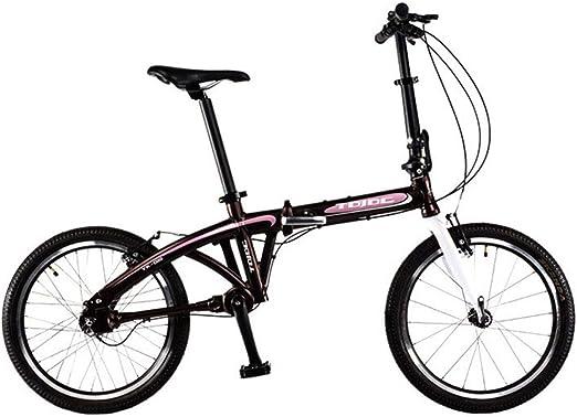 ZDZXCMW Viajes Plegable Bicicletas Hombres Y Mujeres Bicicleta ...