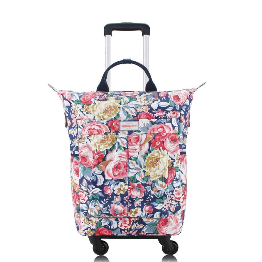 防水旅行袋、4つの車輪が付いている車輪が付いている買物をするトロリー袋手の小屋の荷物の軽量の大きいHoldall (Color : #8, Size : 48*17*57cm) B07SK7JZTL #8 48*17*57cm