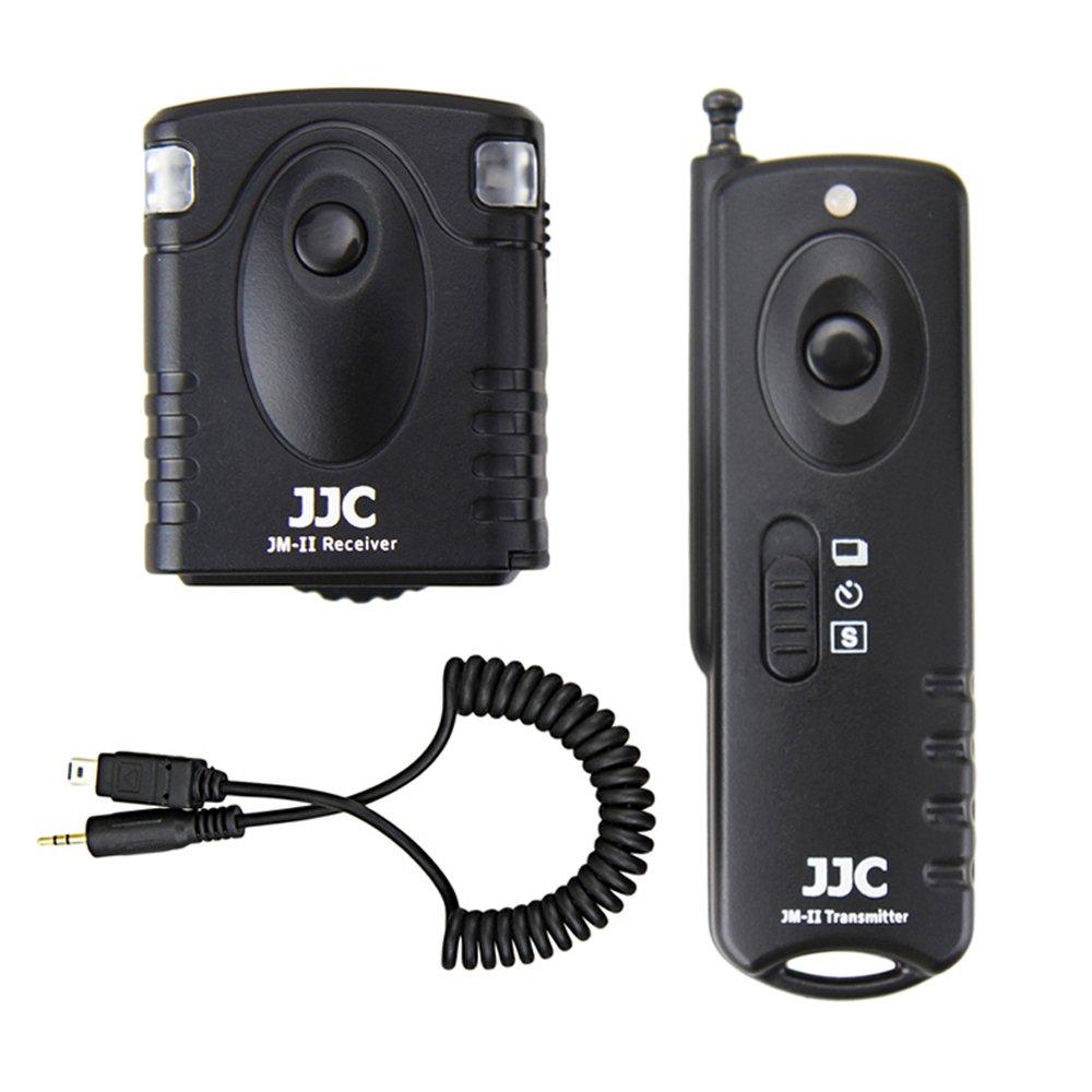 Wireless Shutter Remote Control JJC Remote Shutter Release Controller for Nikon D3100 D3200 D3300 D5000 D5100 D5200 D5300 D5500 D5600 D7000 D7100 D7200 D7500 D750 D610 D600 D90 Df P7800 P7700