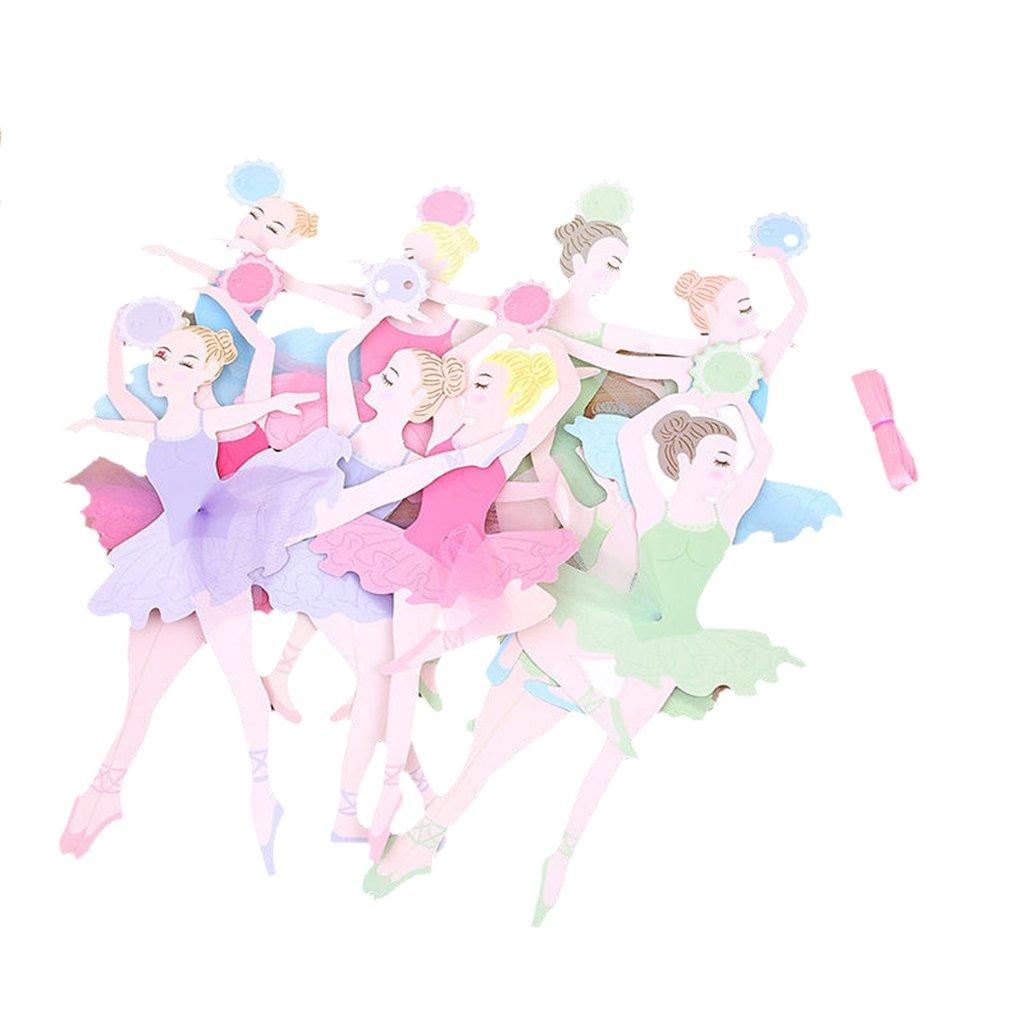 Magideal Ghirlande 10 Pezzi Bandiera Di Ballerina Ragazza Di Balletto Decoraizone Domestica Casa Camera Da Letto Giochi E Giocattoli Happytech Articoli Per Feste E Compleanni