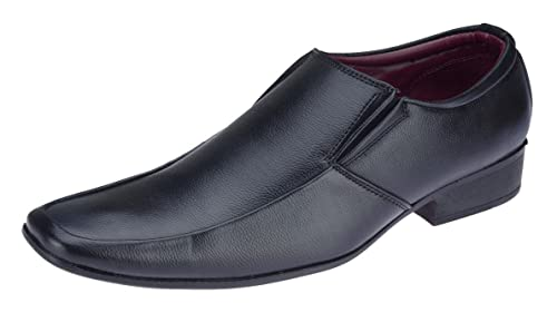45460cd4c2d Lazard from Khadims Men s Black Synthetic Formal Shoes - 10  Buy ...
