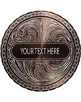 DipLidz Engraved snuff lid Name Plate Scroll