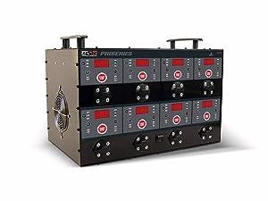 Schumacher DSR127 6V/12V 8-Bank Automatic Battery Charging Station