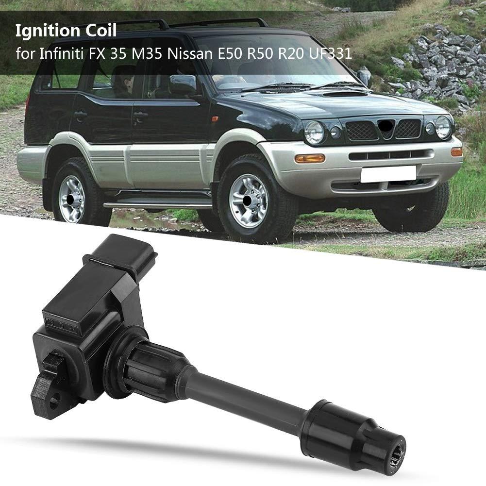 Bobina de encendido del automóvil apta para Infiniti FX 35 M35 Nissan E50 R50 R20 Auto Parts UF331: Amazon.es: Coche y moto