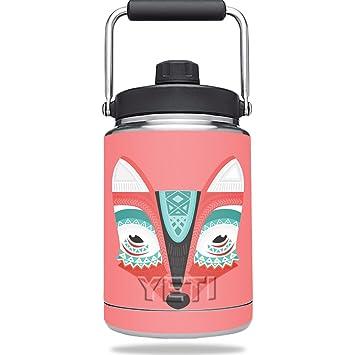 Piel para Yeti Rambler mitad Gallon jarra - Azteca Fox ...