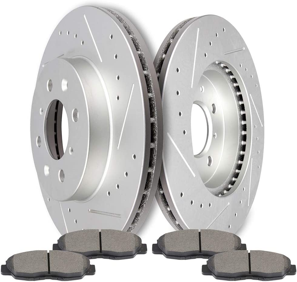 96 Honda Civic Hatchback OE Replacement Rotors w//Metallic Pads F See Desc