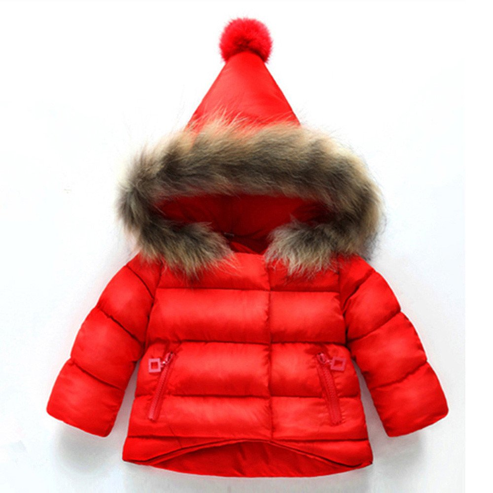 Amazon.com: Dreamyth Baby Girls Boys Kids Cotton Zipper Down Jacket Coat Autumn Winter Warm Children Clothes: Clothing