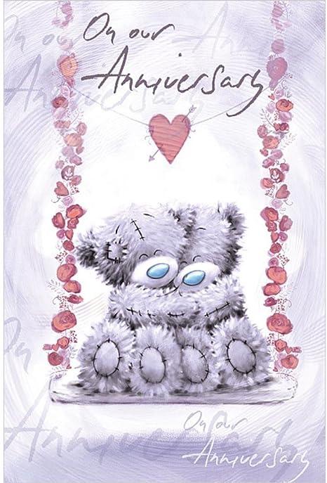 MTY asv01003 Me To You Ours plus merveilleux ami CARTE D/'ANNIVERSAIRE..