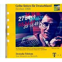 Gelbe Seiten für Deutschland Herbst 98. CD- ROM für Windows 3.1/95/98/ NT, MacOS 7.5