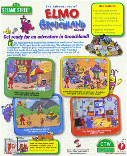 Sesame Street The Adventures of Elmo in Grouchland - PC