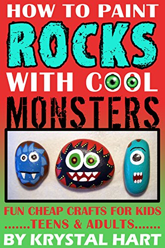 How To Paint Rocks With Cool Monsters Fun Cheap Crafts For Kids