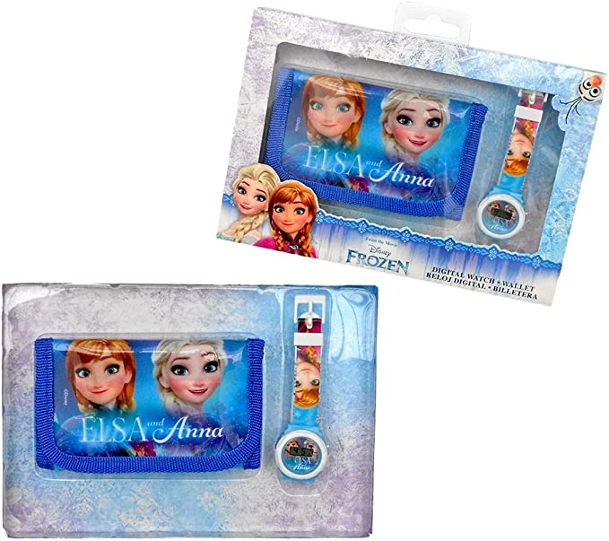 Disney Frozen Set Reloj Digital y Billetera en Caja (WD19657 ...