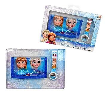 Disney Reloj Digital mas Billetera Frozen Caja Regalo: Amazon.es: Juguetes y juegos