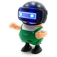 INDITEMS Pubg Robot Toys Playing Dancing with Light and Music auto Robot , Light Eyes Pubg Toys Games