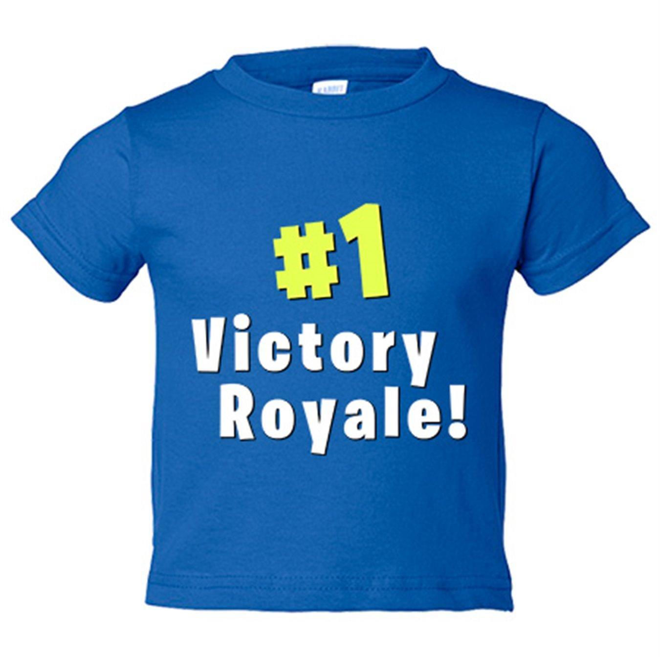 Camiseta niño Fortnite Victory Royale - Azul Royal, 3-4 años: Amazon.es: Bebé