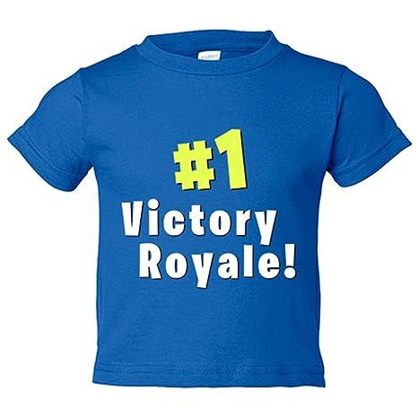 Camiseta niño Fortnite Victory Royale - Azul Royal, 3-4 años