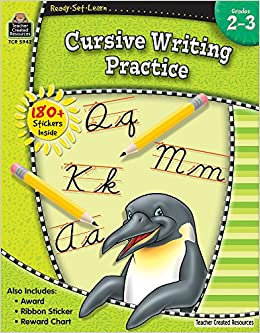 buy cursive writing practice ready set learn book online at low