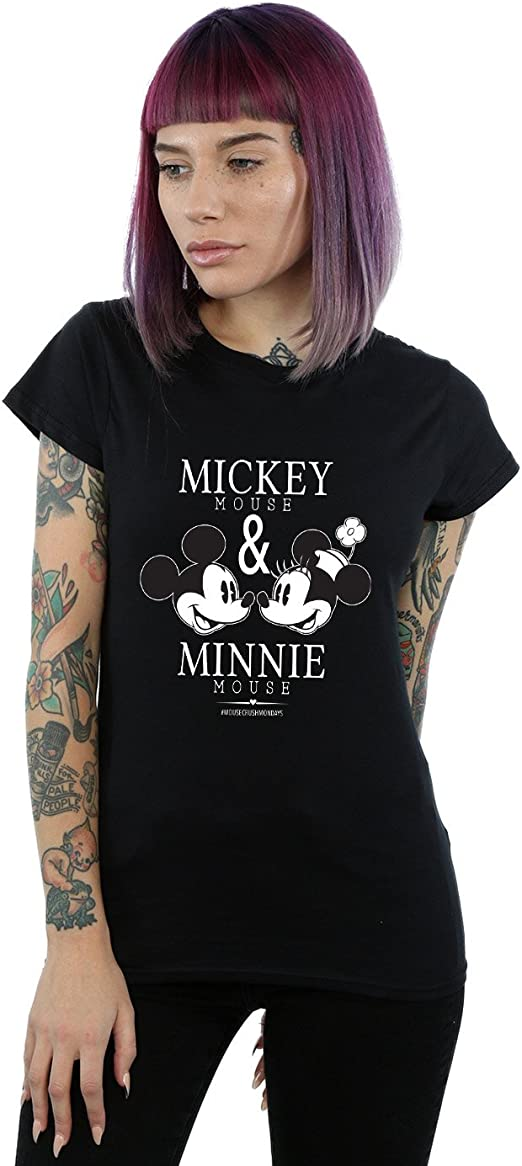 Disney Damen Mickey and Minnie Mouse Mousecrush Mondays Muskelshirt