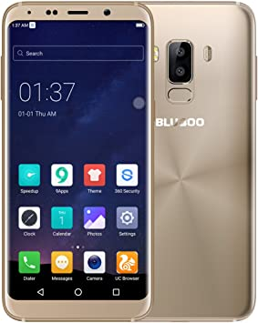 BLUBOO S8 4 G Smartphone Android 7.0 5.7 HD 18: 9 Pantalla, mtk6750 Octa Core 3 GB RAM 32 GB ROM 5.0 MP + 13.0 MP Camera, Type C, 3450 mAh Battery 4.4 V: Amazon.es: Electrónica
