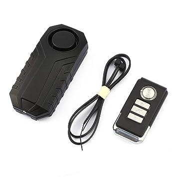 ... eléctrico/Vibración de automóvil de Nueva energía y Bloqueo de Seguridad de Alarma de Desplazamiento Vida Solitaria: Amazon.es: Electrónica