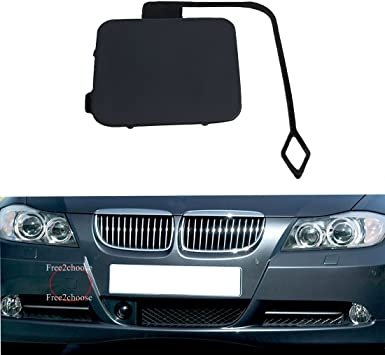 Amazon Com Free2choose Front Bumper Tow Hook Cover Cap For E90