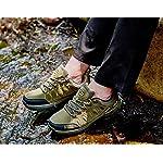 Chaussures de Randonnée Outdoor pour Hommes Femmes Basses Trekking et Les Promenades Sneakers Verte Bleu Noir 36-47 13