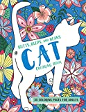 Butts, Bleps, and Beans Cat Coloring Book: 35 Coloring Pages for Adults