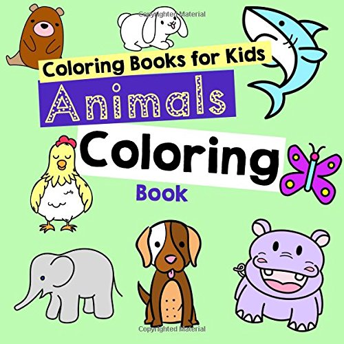 Download Coloring Books for Kids: Animals Coloring Book ebook