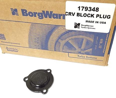 Amazon.com: Borg Warner EFR Turbocharger Block-off Plate, P/N 179348: Automotive