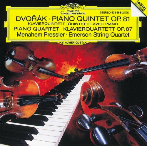 Dvorák: Piano Quintet, Op. 81 ...