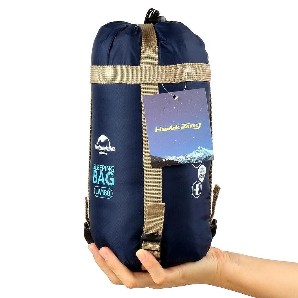 制約期間実験をするDesertFox 寝袋 封筒型 軽量 シュラフ 防水 コンパクト【 選べる6色】1kg 1.4kg 1.8kg アウトドア 登山 車中泊 丸洗い 収納袋付き オールシーズン