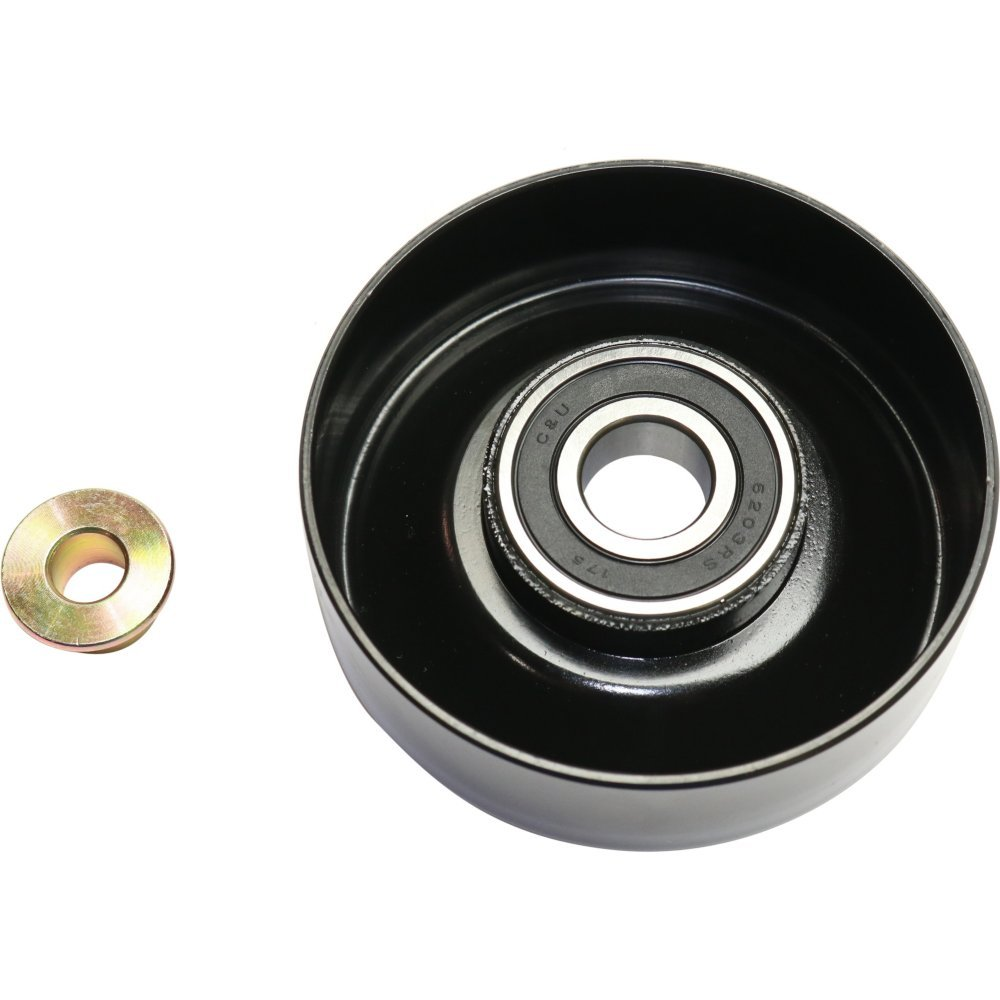 Accessory Belt Idler Pulley compatible with Jeep Cherokee 87-01 Concorde 93-04