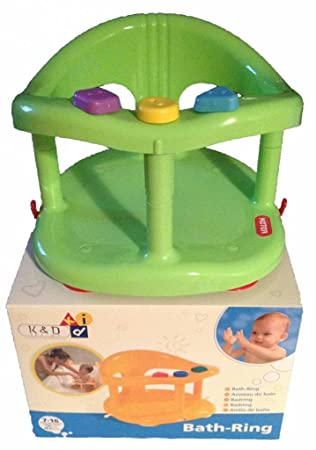 Baby Bath Tub Ring Seat New in Box By Keter - Blue or Green or ...