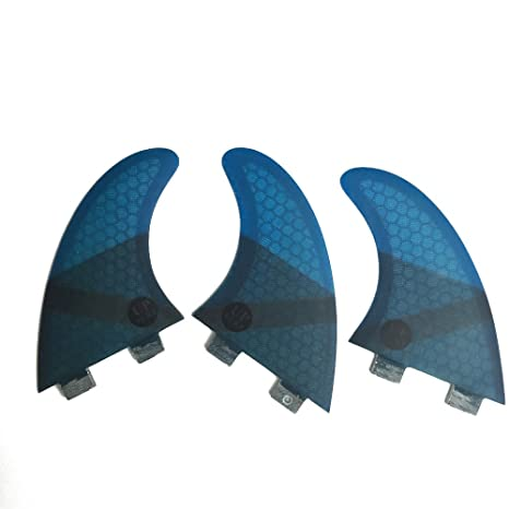 1d31d68603 UPSURF Fibreglass Surfboard Fins G5 Size Thruster FCS Style (3 Fins) by  Choose Color