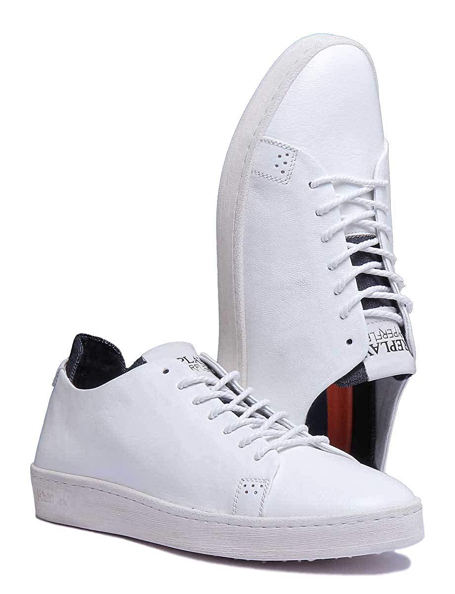 Replay Wharm Shoes in White