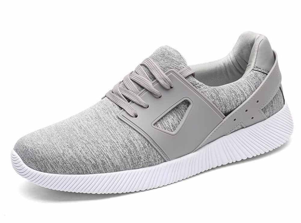 Hombres zapatos deportivos ocasionales otoño nuevos zapatos corrientes de la juventud transpirable de gran tamaño 45-48 ( Color : Gray , Size : 48 ) 48|Gray
