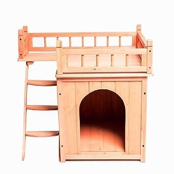 Casa de madera para gatos de PaylesswithSS: Amazon.es ...
